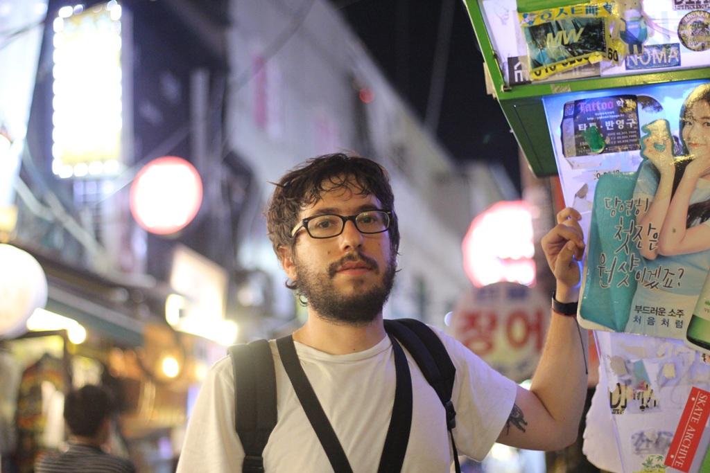 Javier Sinay en Itaeown, Seúl